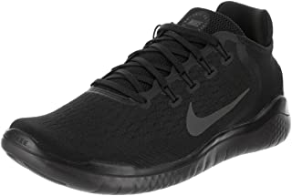 Free Rn 2018 Mens Running Black/Anthracite Shoes Size 12