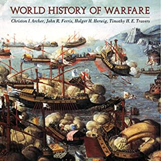 World History of Warfare audiobook cover art