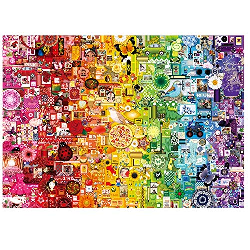 Animal Jigsaw Puzzles 1000 stukjes puzzels, Uil Jigsaw Puzzle For Adults Teen Kids Home Decoration (Color : A)