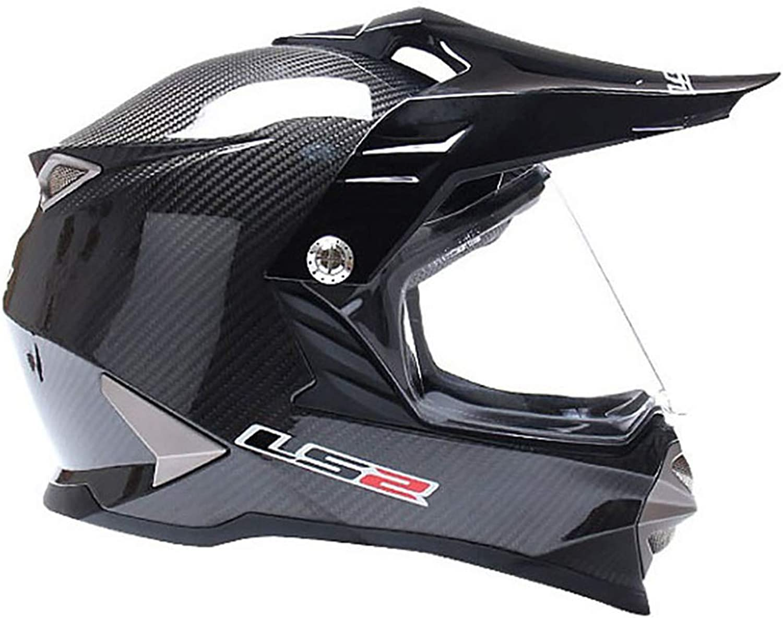 Motorcycle Helmet Carbon Fiber OffRoad Helmet Sports Car Helmet Motorcycle Helmet Outdoor Riding Helmet Street Bike Racing Collision Helmet