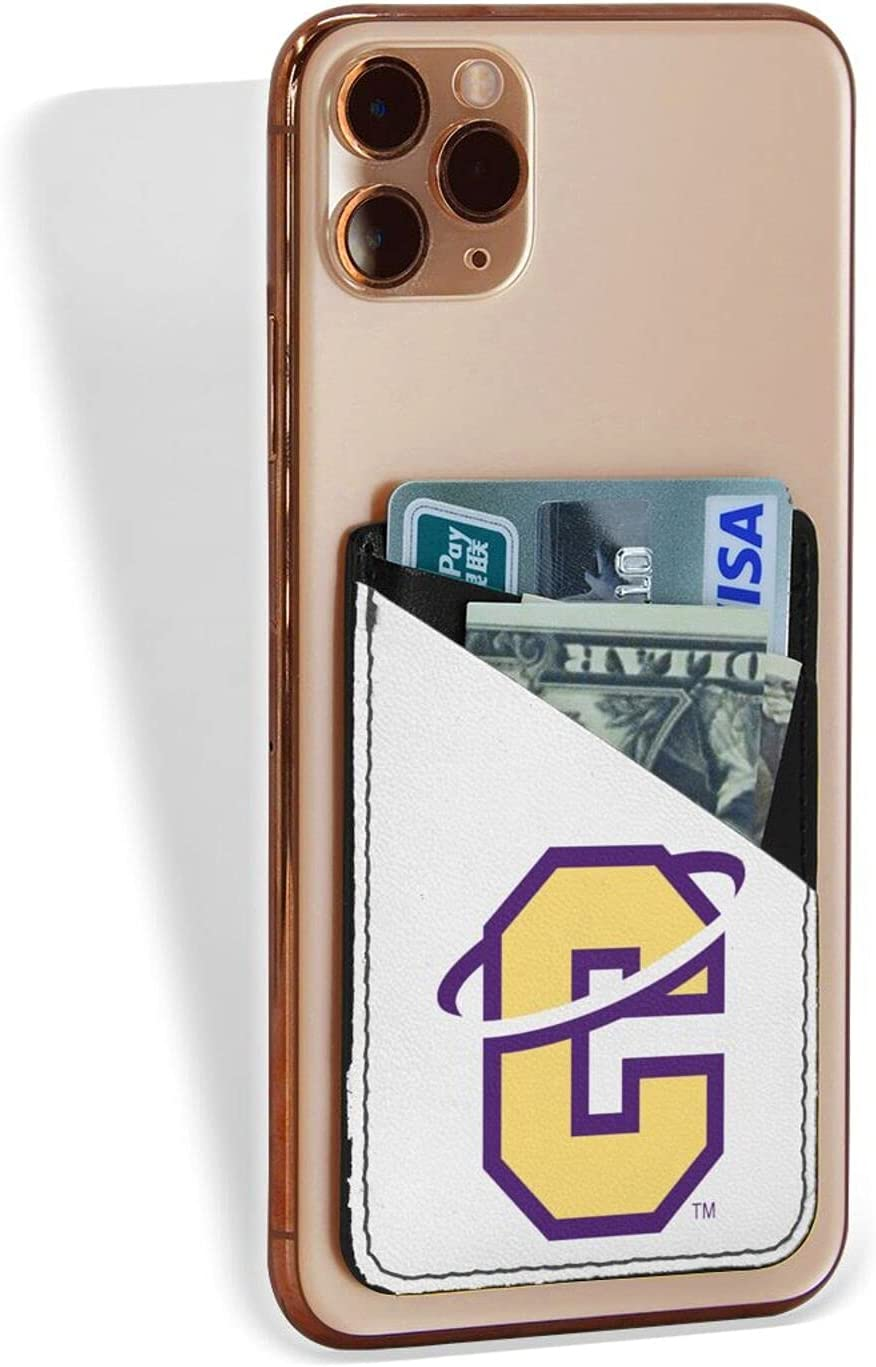 Carroll College Fighting Saint Logocredit Card Holder Fashion Mobile Phone Card Package 3.1 X 2.5 in