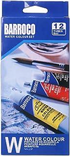JumpXL - 12 colores vivos en tubos (12 x 6 ml), pigmento de acuarela con pincel, pintura profesional no tóxica, para artistas, estudiantes y principiantes