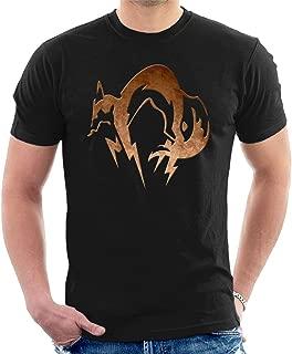 Foxhound Symbol Dirty Brass Metal Gear Solid Men's T-Shirt