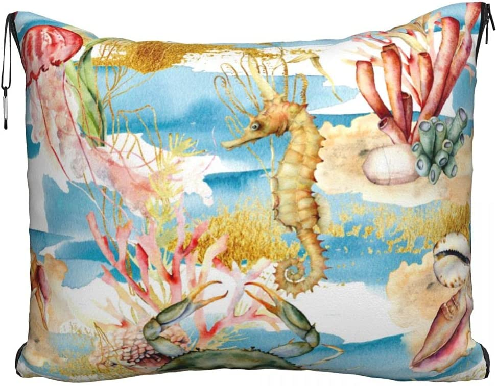 Watercolor Underwater Direct sale of manufacturer Animal Blanket and Soft Premium i Free shipping anywhere in the nation 2 Pillow