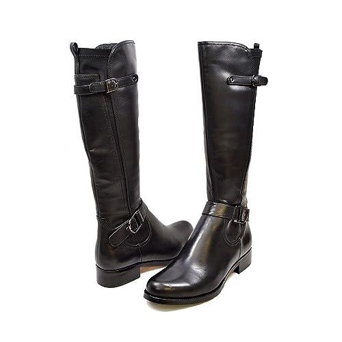 1698ecfc5ad SoleMani Abigail Slim Calf Women s Leather Boot 13