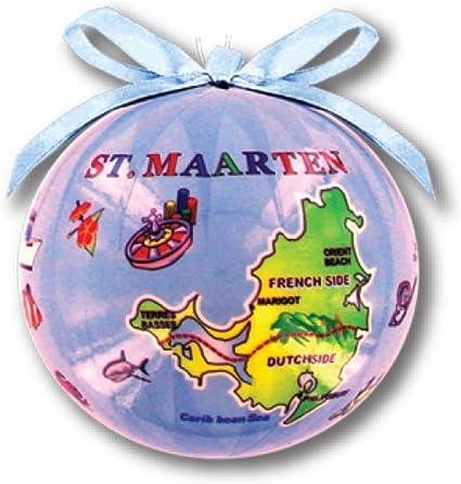 Rockin Gear Christmas Ornament Ball Decorative Assorted Tropical Islands Souvenir Cayman Islands