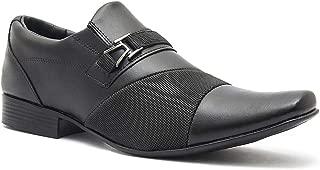 Sapato Social Salazari Preto Fosco 450
