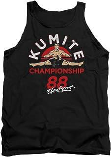 Bloodsport Classic 80s Action Film Kumite Championship '88 Adult Tank Top Shirt