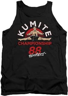Classic 80s Action Film Kumite Championship '88 Adult Tank Top Shirt