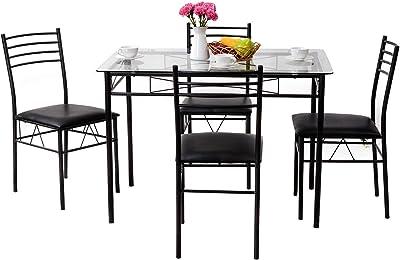 Amazon.com: Best Choice Products - Juego de mesa de comedor ...