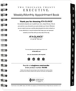 Best at a glance executive weekly planner Reviews