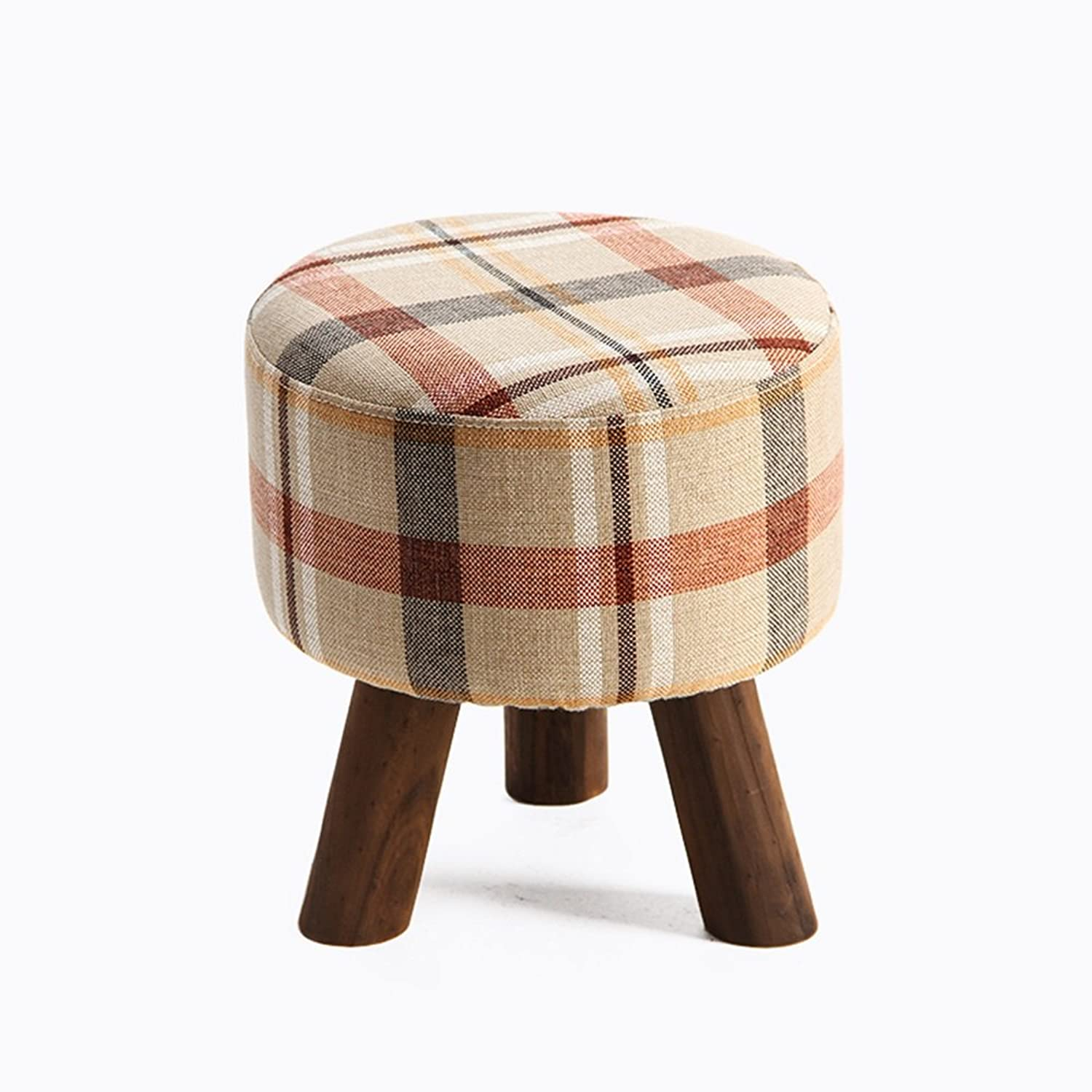 Simple Modern shoes stool, Sofa stool, Solid Wood for shoes stool, Cloth pier, Living Room Footstool, Small stool, Wearing a shoes stool