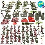 Set Juguetes Soldados 519 Piezas   Juguete Plastico de Figuras...