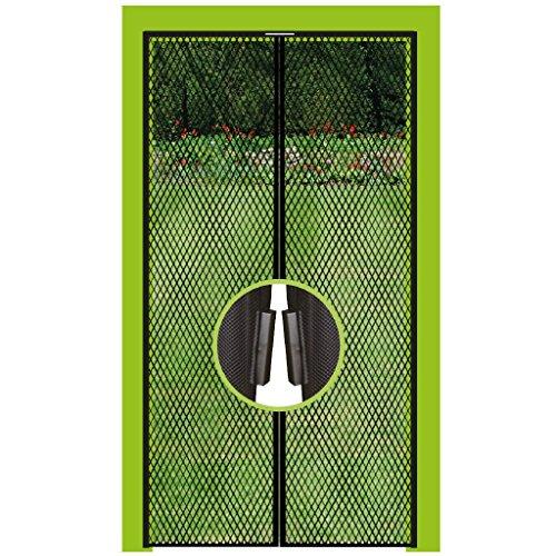 Pro Home Insektenschutz Magnetvorhang Fliegengitter für Türen, in Länge und Breite individuell kürzbar. (100x210cm)