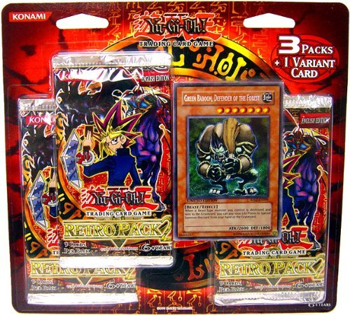 Yugioh Retro Pack 2 SE Special Edition Blister Pack (3 Packs and 1...