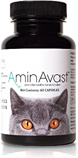 AminAvast Kidney Support Supplement for Cats and Dogs, 300mg - Promotes and Supports Natural Kidney Function 60 Sprinkle Capsules