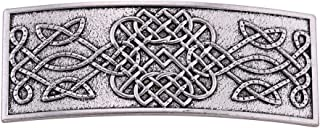 Ethnic Celtic Irish Knotwork Metal Hair Clips Barrettes for Women Vintage Jewelry