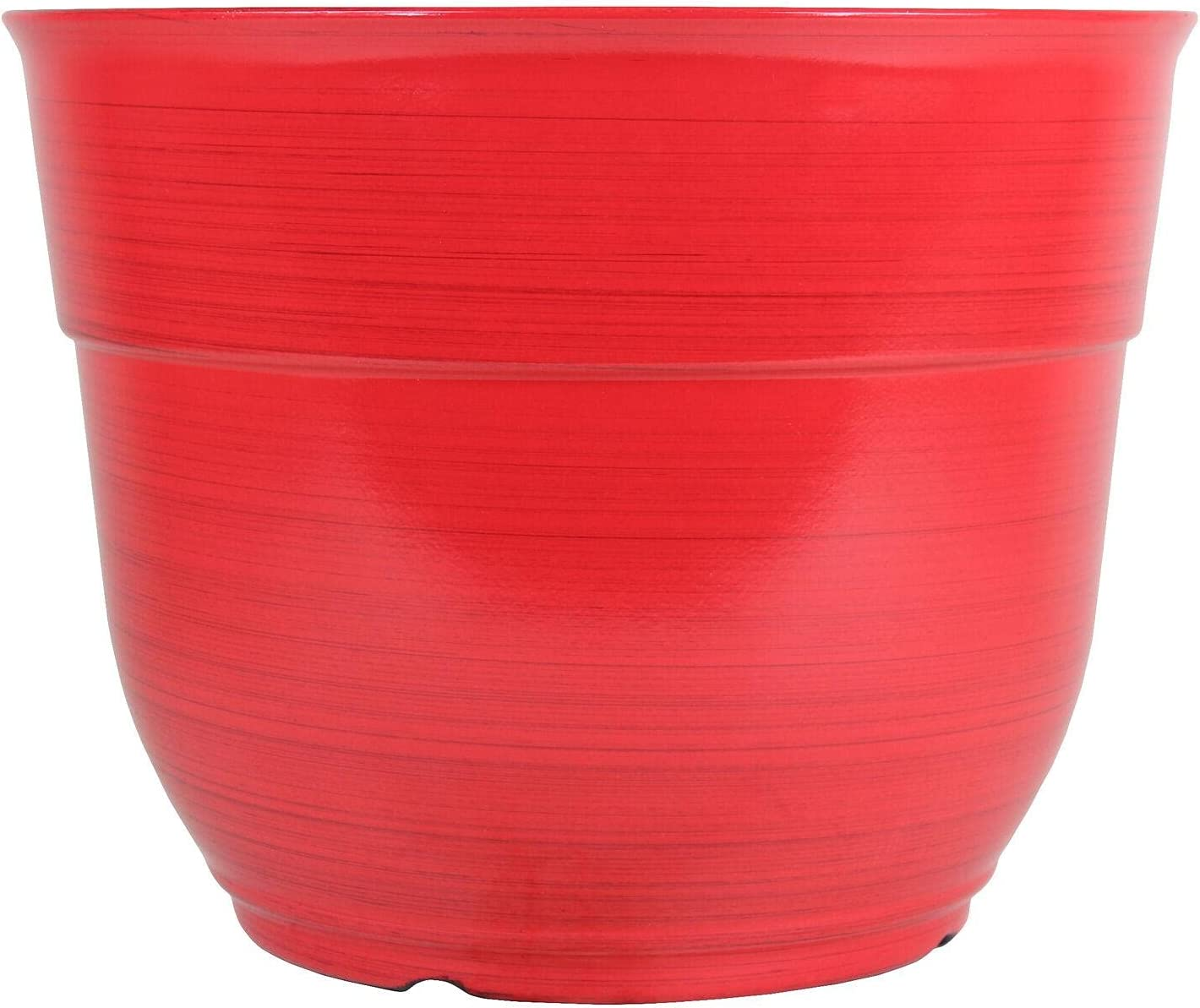 Large Plastic Max 62% OFF Planter Red 15
