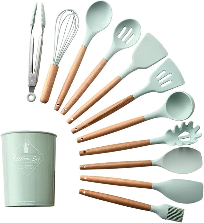 HJHJ Max 65% OFF Finally popular brand Silicone Kitchen Utensils Fo Anti-Stick of