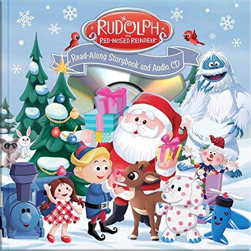 Rudolph the Red-Nosed Reindeer Read-Along Book and CD