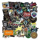 The Legend of Zel_da Stickers 51PCS Vinyl...