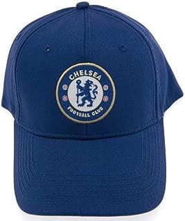 Chelsea FC Lavorato a Maglia Bronx Cappello Beanie Navy Blue