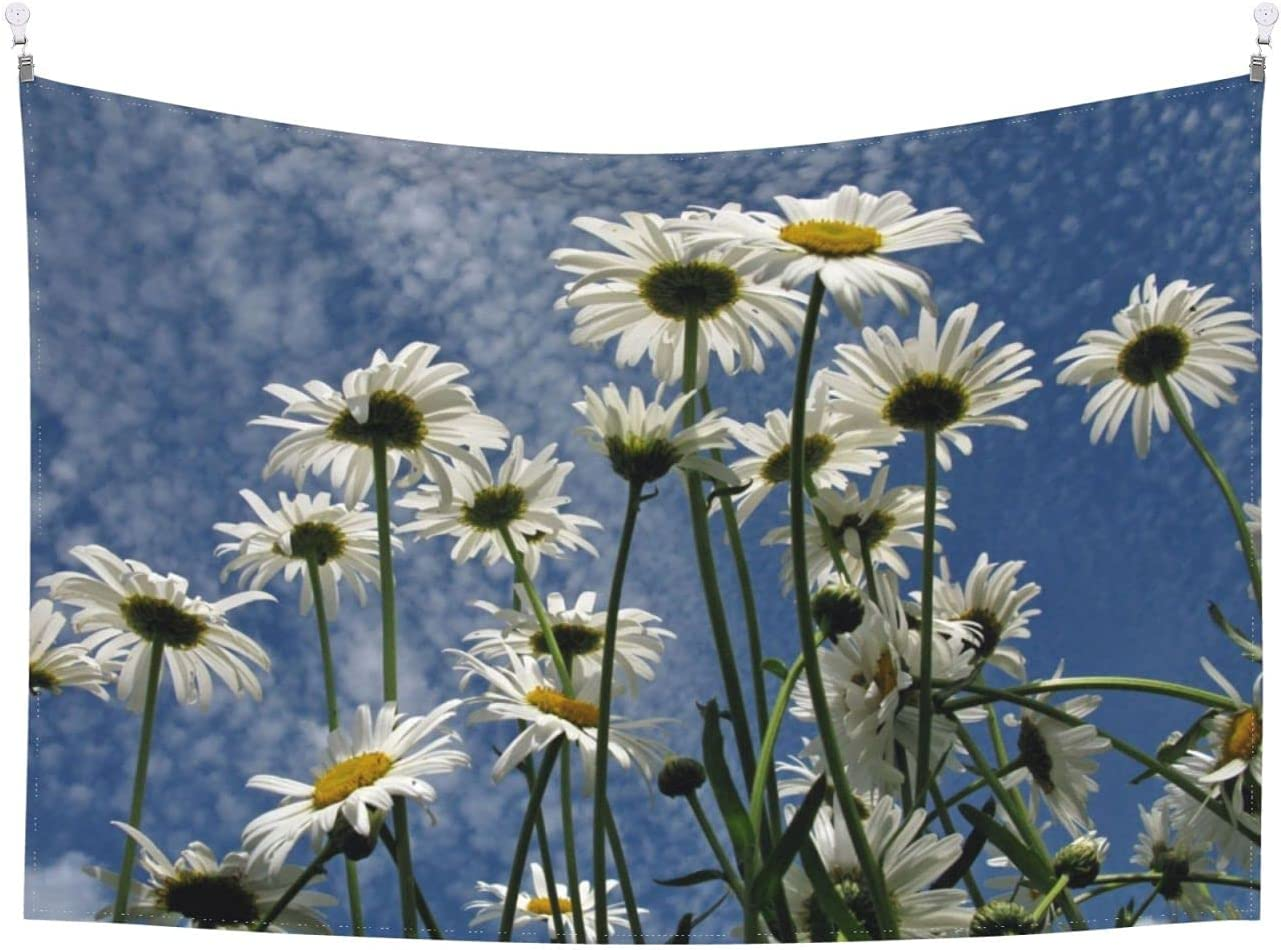 Flower shopping tapestry 67% OFF of fixed price Daisy wall hanging daily ta decoration