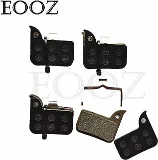 EOOZ 4 Pairs Bicycle Semi - Metallic Hydraulic DISC BRAKE PADS FOR SRAM HRD Red 22 B1, Force 22, CX1, Rival 22, S700 B1 SRAM Level ULT/TLM