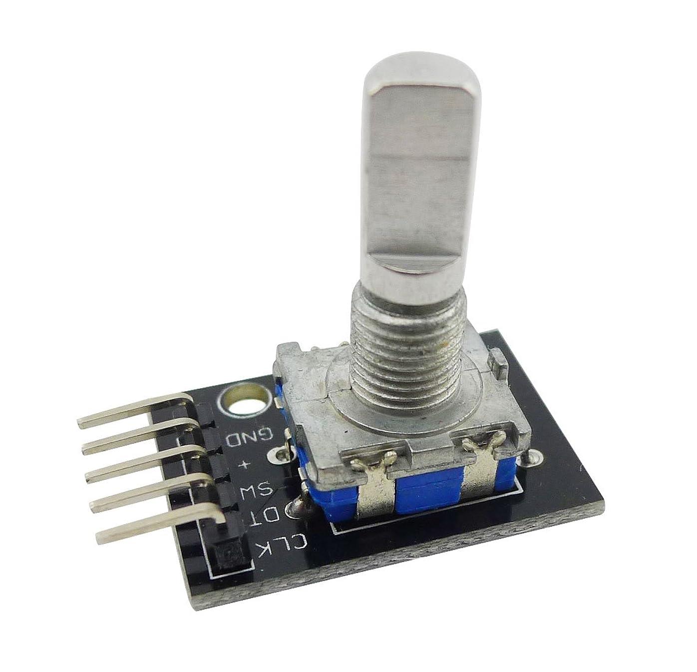 バース波記事EasyWordMall Arduino AVR PIC Raspberry Piラズベリー 360度 5V ロータリ ロータリー エンコーダ·モジュール