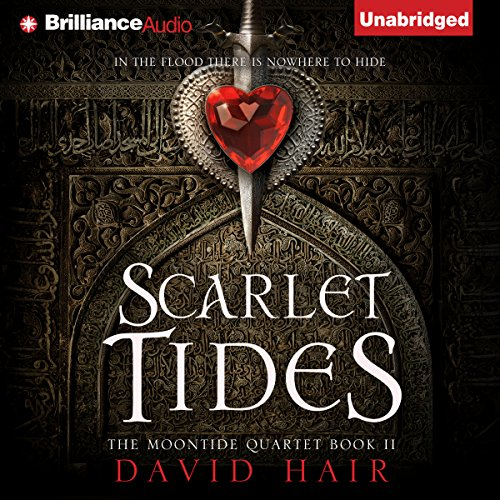 Scarlet Tides audiobook cover art