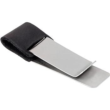 1個セット レザークリップ クリップ ペン ホルダー レザーペンホルダー ほぼ日手帳用 ペン付き手帳 ステンレスクリップ付き