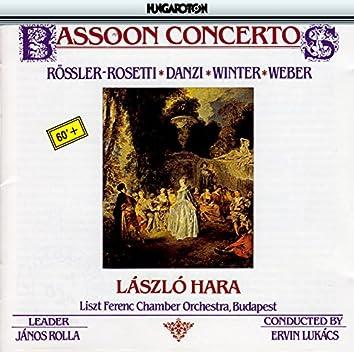 Rosetti / Danzi / Winter / Weber: Bassoon Concertos