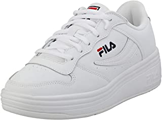 Fila WX-100 Womens White/Navy/Red Trainers