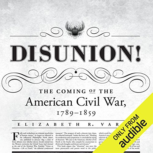 Disunion! audiobook cover art