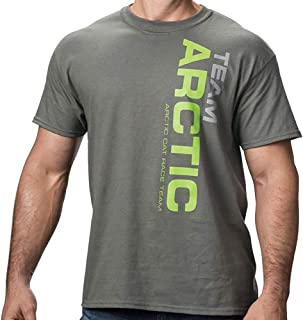 Team Arctic Race T-Shirt Durable Relaxed Mens Fit Cotton...