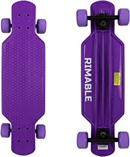 purple longboard