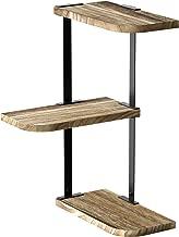 Best rustic wood corner shelf Reviews