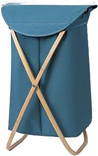 YWAWJ Panier à Linge Pliant Sac de Rangement Portable avec poignée Sac à vêtements Sale pouvant accueillir Une Salle de Ba...