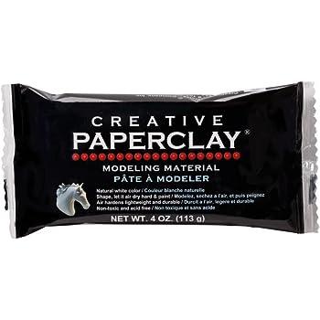 Material para Modelar Creative Paperclay 113 g Blanco