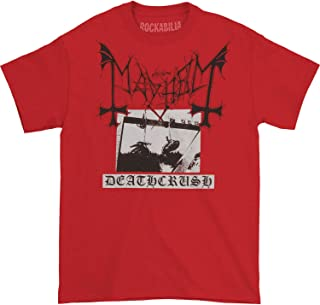 Men's Deathcrush Tee T-Shirt Red