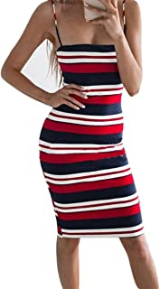 e0f504cfa8d Lovely-Shop dresses Patchwork Print Sexy Strip Women Evening Club Pencil  Dress Women Backless Bodycon