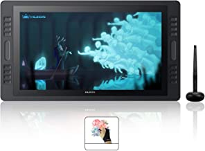 Huion KAMVAS PRO 20 Graphics Drawing Tablet Screen Monitor with TILT Function 8192 Battery-Free Pen, 8 Press Keys and 2 Touch Bar -19.53 Inches