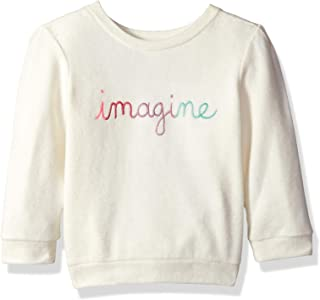 Girls' Big Long Sleeve Knit Pullover