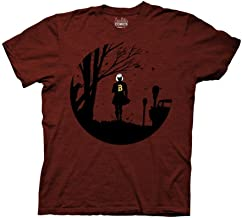 Ripple Junction Archie Adult Unisex Sabrina Silhouette Light Weight Crew T-Shirt