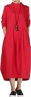 Best red turtleneck maxi dress Reviews