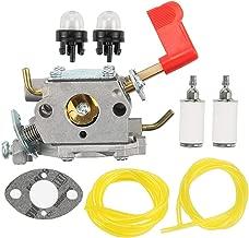 Coolwind C1U-W32 Carburetor with Fuel Line Tune Up Kit for Poulan PP136E PPB100E PPB150E PPB200E PPB250E PPB300E PPB32SST PP446ET PP446E SM446E PP46ET Trimmer Pruner 545006017