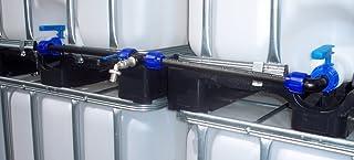 IBC adaptador Set de conexión para dos depósitos de agua de lluvia