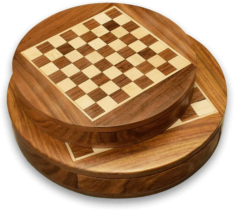 Magnetic outlet Chess High-Grade Solid store Wood Children's Pupils Portable