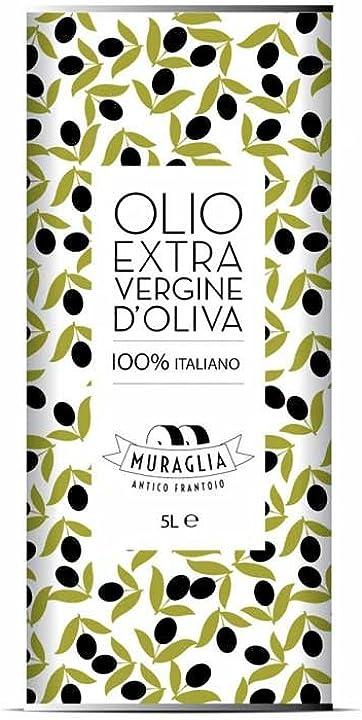 Olio extra vergine di oliva essenza fruttato intenso 5000ml muraglia B07B8VH9T7