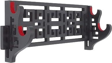 2-Tier Sword Houder Wall Mount Bracket Display Stand Hanger for Katana Wakizashi Samurai Sword Zwaardstandaard (Color : B)